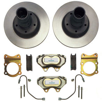 Kit 7: Front drum to disc conversion for XK120/140 & Mk 5,7 & 8 saloons - £POA